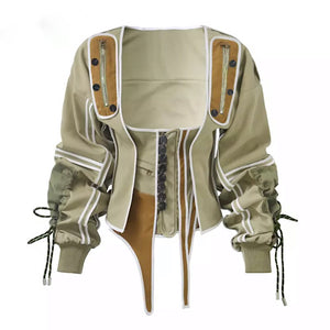 everything-girls-love-by-coleen,,Western style olive jacket