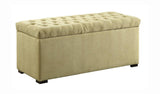 Sahara Tufted Storage Bench