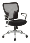 Air Grid Back and Padded Mesh Seat Chair