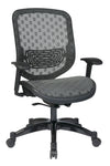 Charcoal DuraFlex with Flow Through Technology? Back and Seat Chair