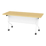 5' White Frame, Training Table