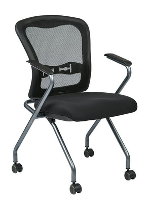 Deluxe Folding Chair with ProGrid Back (2-PK)