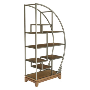 Crescent Bookcase