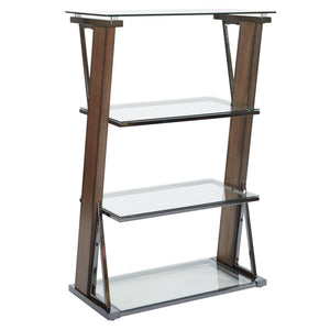 Eureka 4-Shelf Bookcase