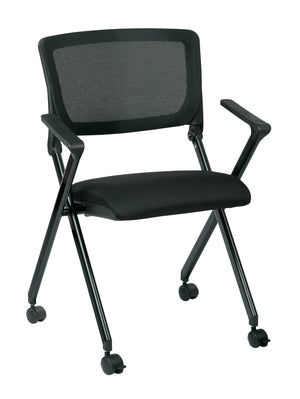 Folding Chair with breathable Mesh Back (2-PK)