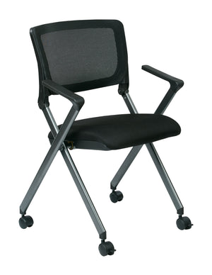Folding Chair with Screen Back (2-PK)