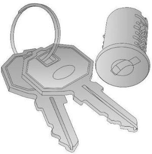 Lock Core With Keys (Compatible with Napa, Kenwood, Sonoma, Lodi )