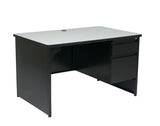 Metal Desk Right Pedestal 50X32
