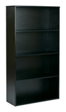 "Prado 60"" 4-Shelf Bookcase"