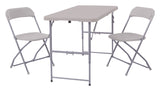 3-Piece Folding Set (2 chairs and 1 table)