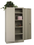 "72"" High Storage Cabinet With 4 Adjustable Shelf"
