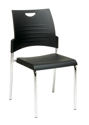 Straight Leg Stack Chair