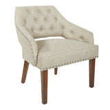 Milford Toast Fabric Chair
