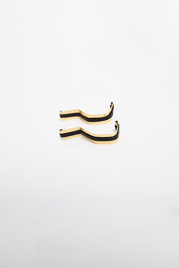 QUESTION MARK EARRINGS - ANGLE