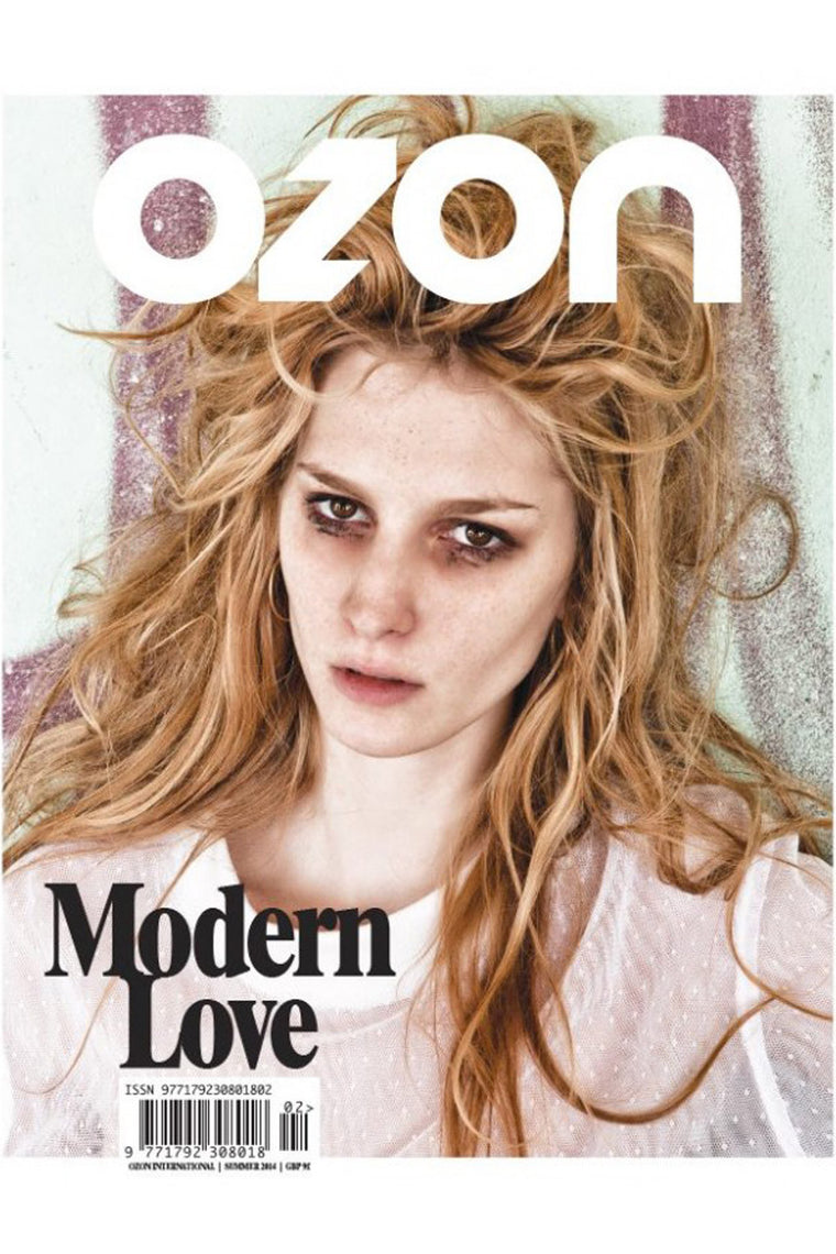 OZON - 'MODERN LOVE' INTERNATIONAL ISSUE SUMMER 2014 - Magazines - Ozon Boutique