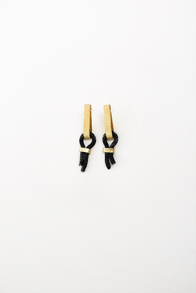 PICOT EARRINGS - SMALL