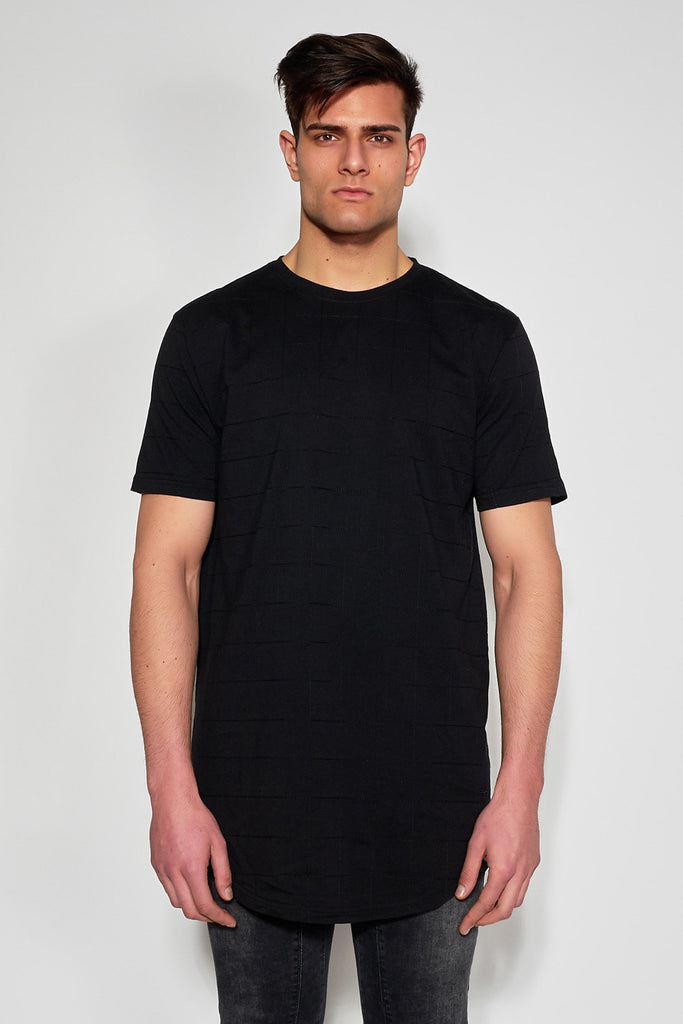 ANTIOCH - BLACK EMBROIDERED T-SHIRT - Men Clothing - Ozon Boutique - 1