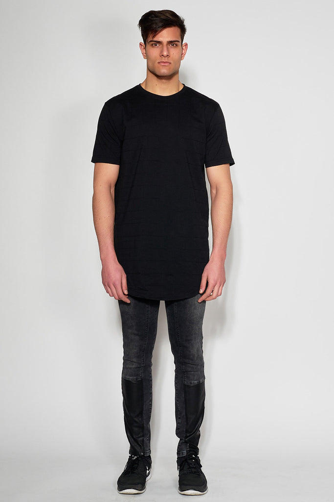 ANTIOCH - BLACK EMBROIDERED T-SHIRT - Men Clothing - Ozon Boutique - 4