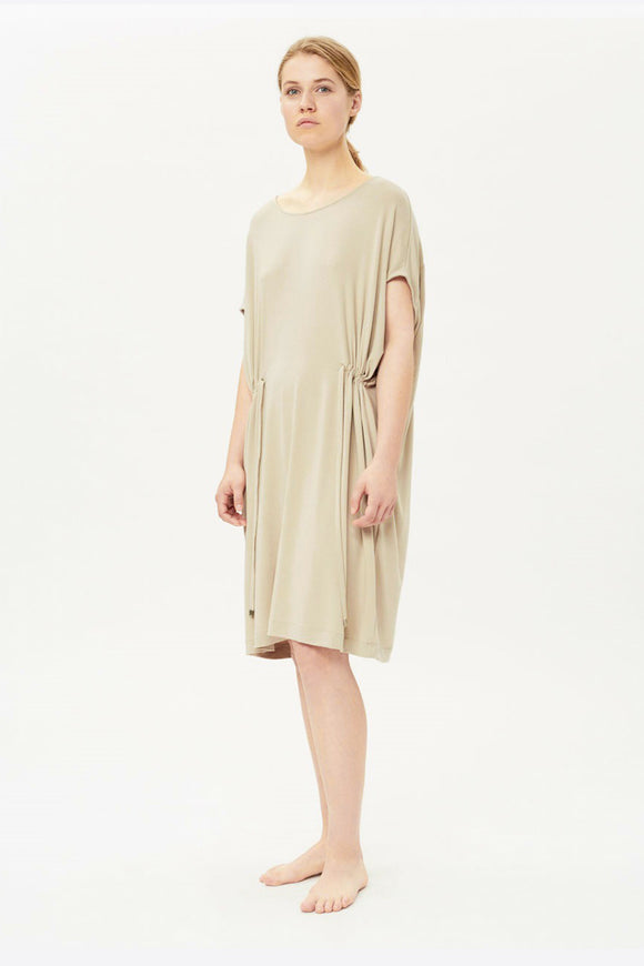 MULTIWAY TUNIC DRESS BEIGE