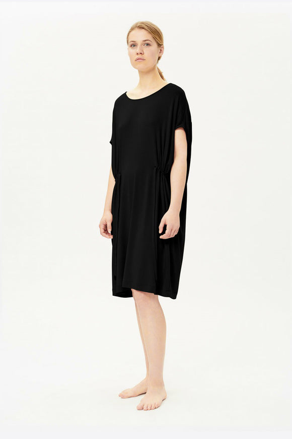 MULTIWAY TUNIC DRESS BLACK