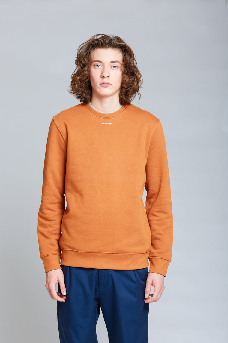 Logo Crewneck | Roasted Orange