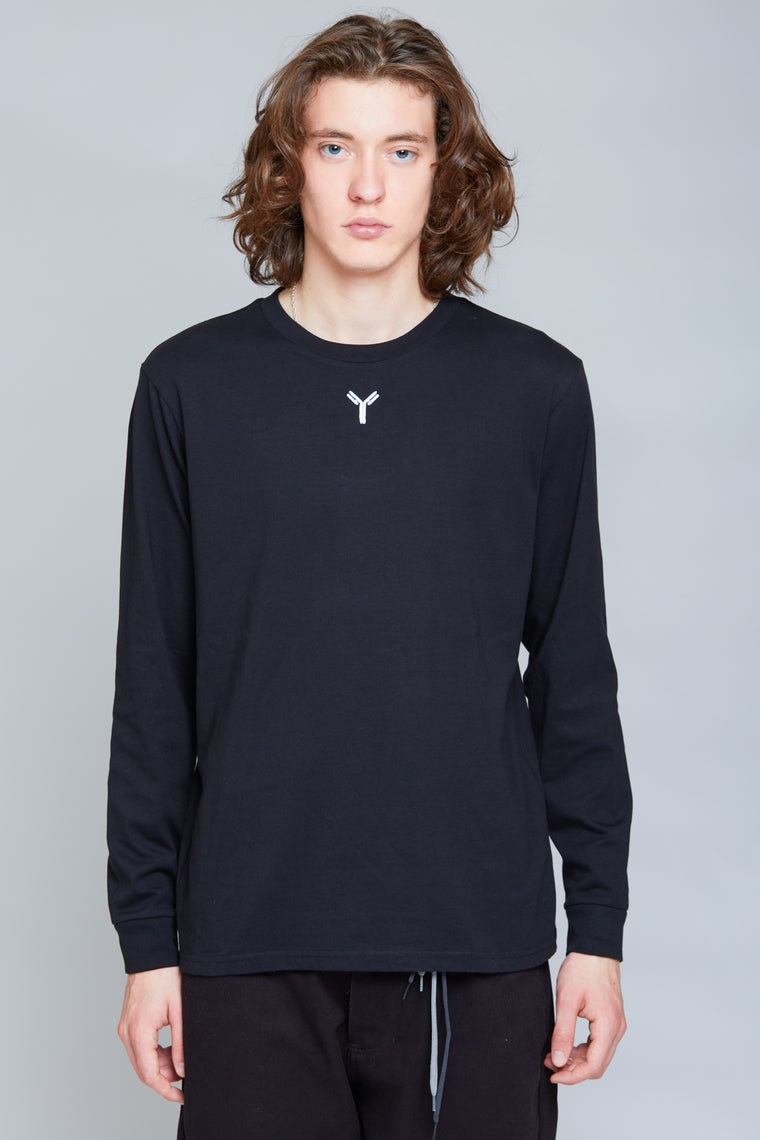Y Embroidery Longsleeve | Black