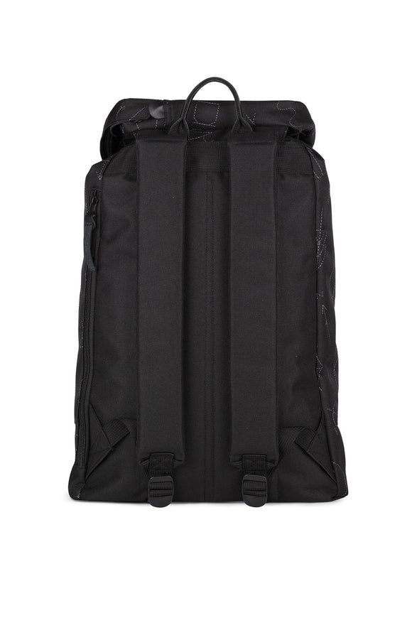BLACK EMBROIDERY PREMIUM BACKPACK