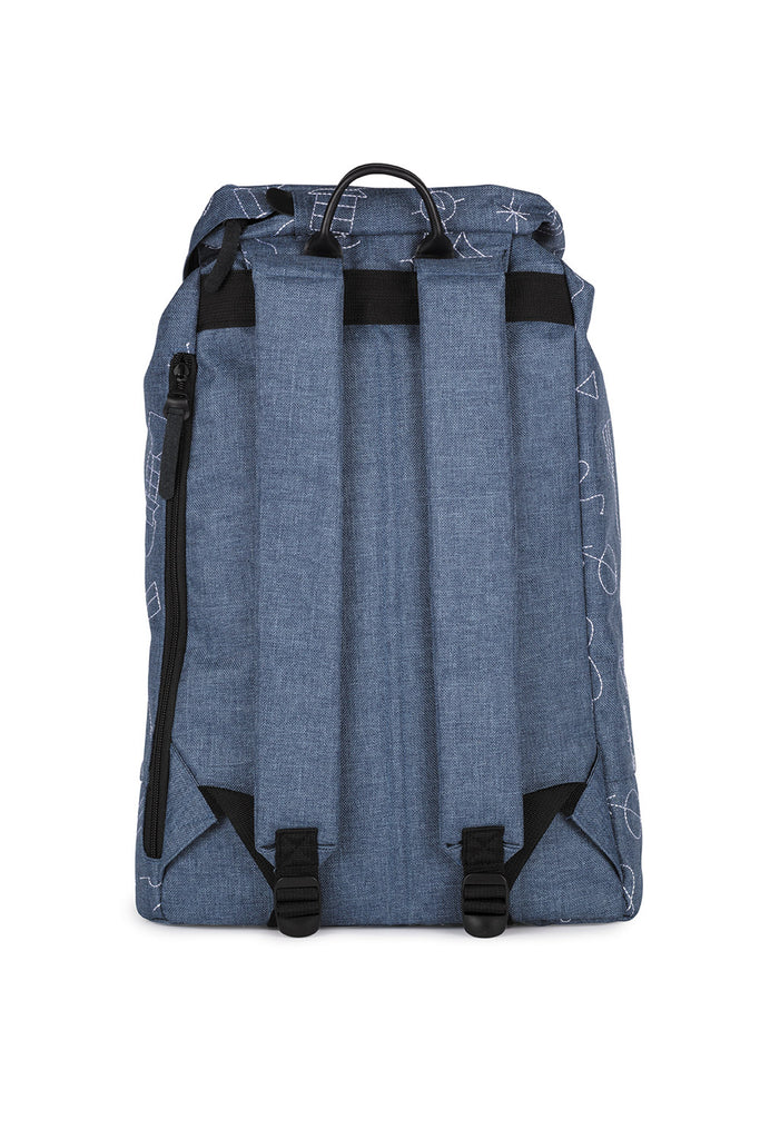 BLUE EMBROIDERY PREMIUM BACKPACK