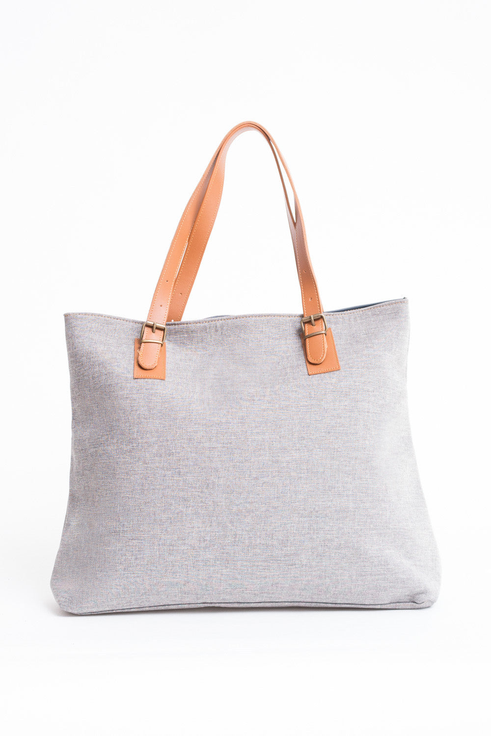 SIENA SHOPPER BAG LIGHT GREY