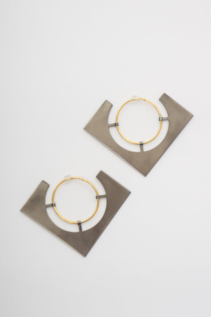 BORD DE L'EAU - ECLIPSE 2 EARRINGS - Jewellery - Ozon Boutique - 4
