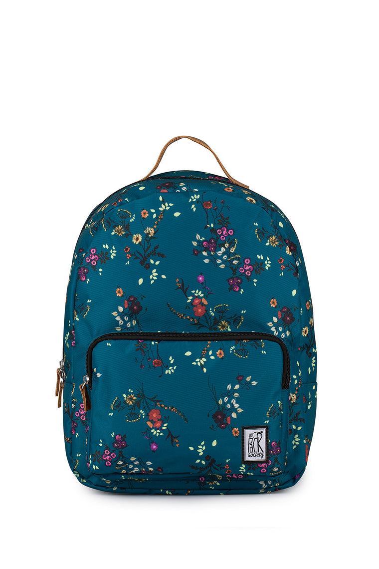 BLUE FLOWER ALLOVER CLASSIC BACKPACK