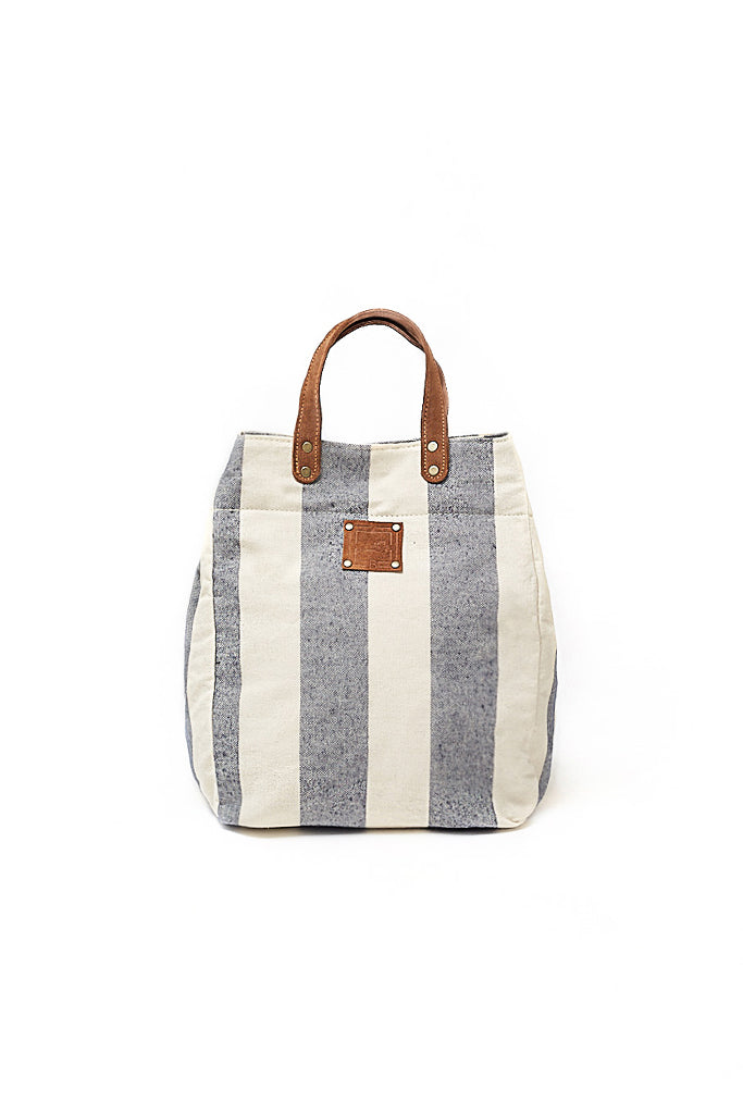 SHOULDER BAG GRECIAN STRIPES