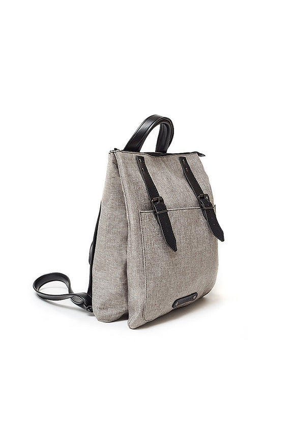CITY BACKPACK LIGHT GREY