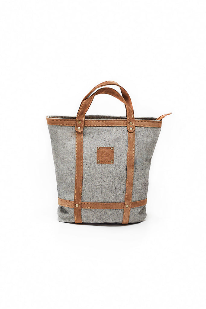 LEATHER STRIPES BAG