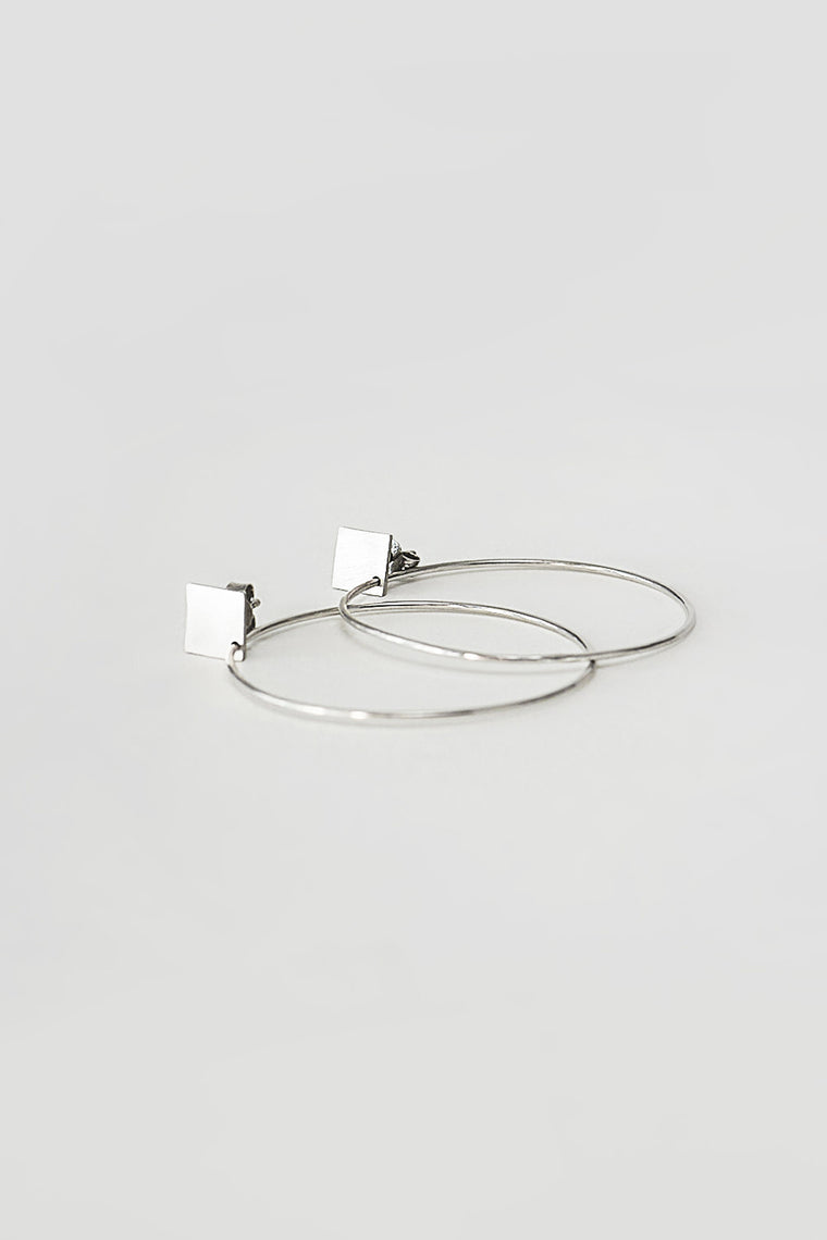 GEOMETRY HOOPS - SQUARE