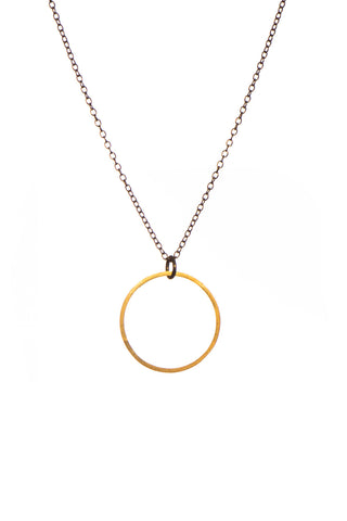 MOODLIKEME - CIRCLE NECKLACE GOLD/SILVER - Jewellery - Ozon Boutique - 1