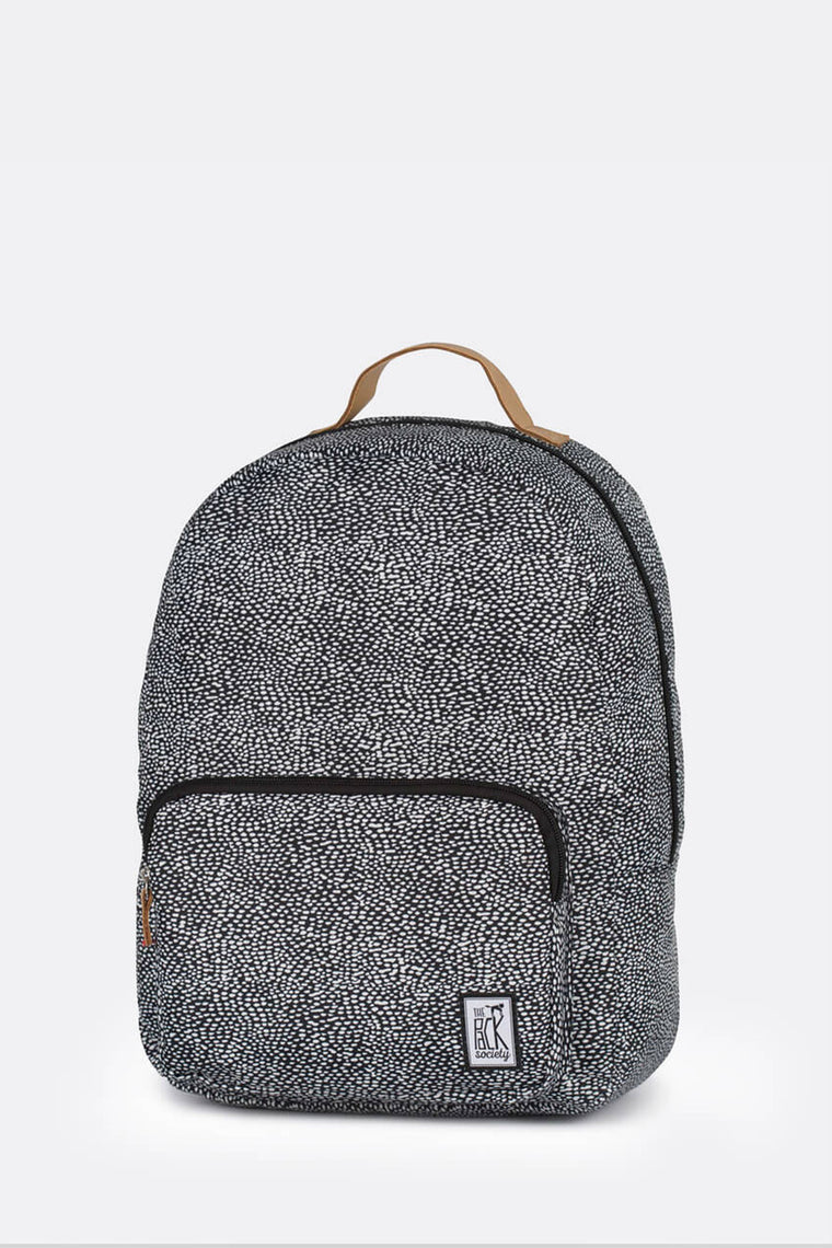 CLASSIC BACKPACK OFF WHITE BLACK DOT