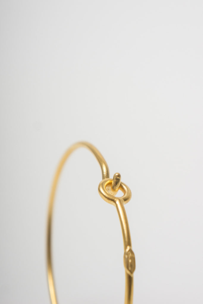 BORD DE L'EAU - HOOK BRACELET GOLD - Jewellery - Ozon Boutique - 2