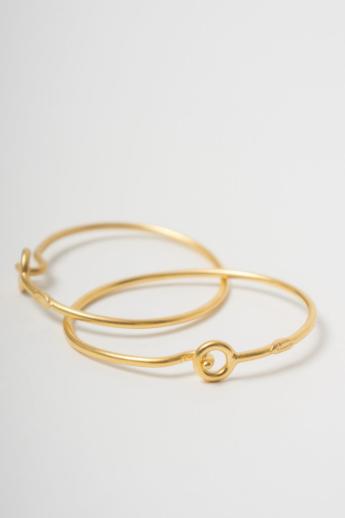 BORD DE L'EAU - HOOK BRACELET GOLD - Jewellery - Ozon Boutique - 3