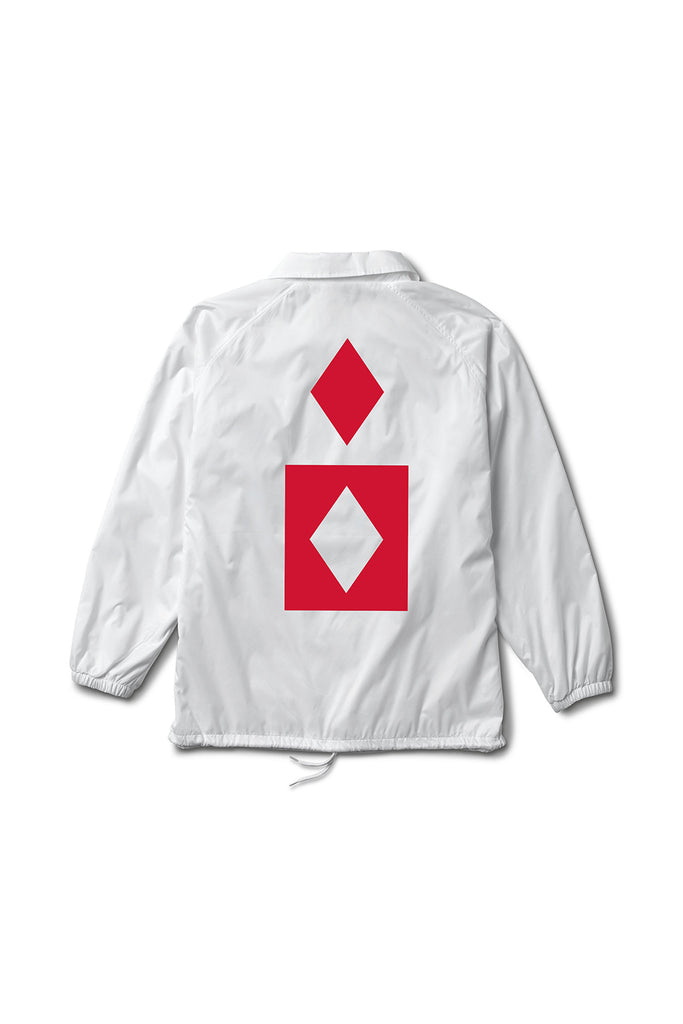 MARQUISE COACHES JACKET WHITE
