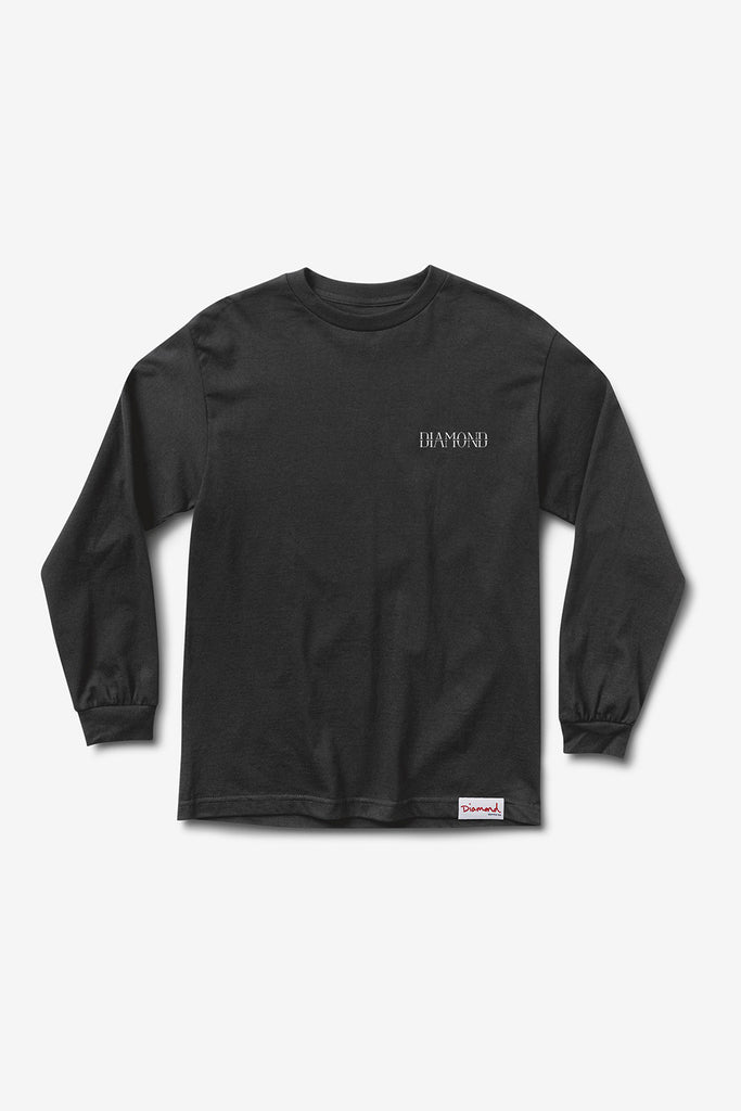 SPLIT LONGSLEEVE T-SHIRT BLACK