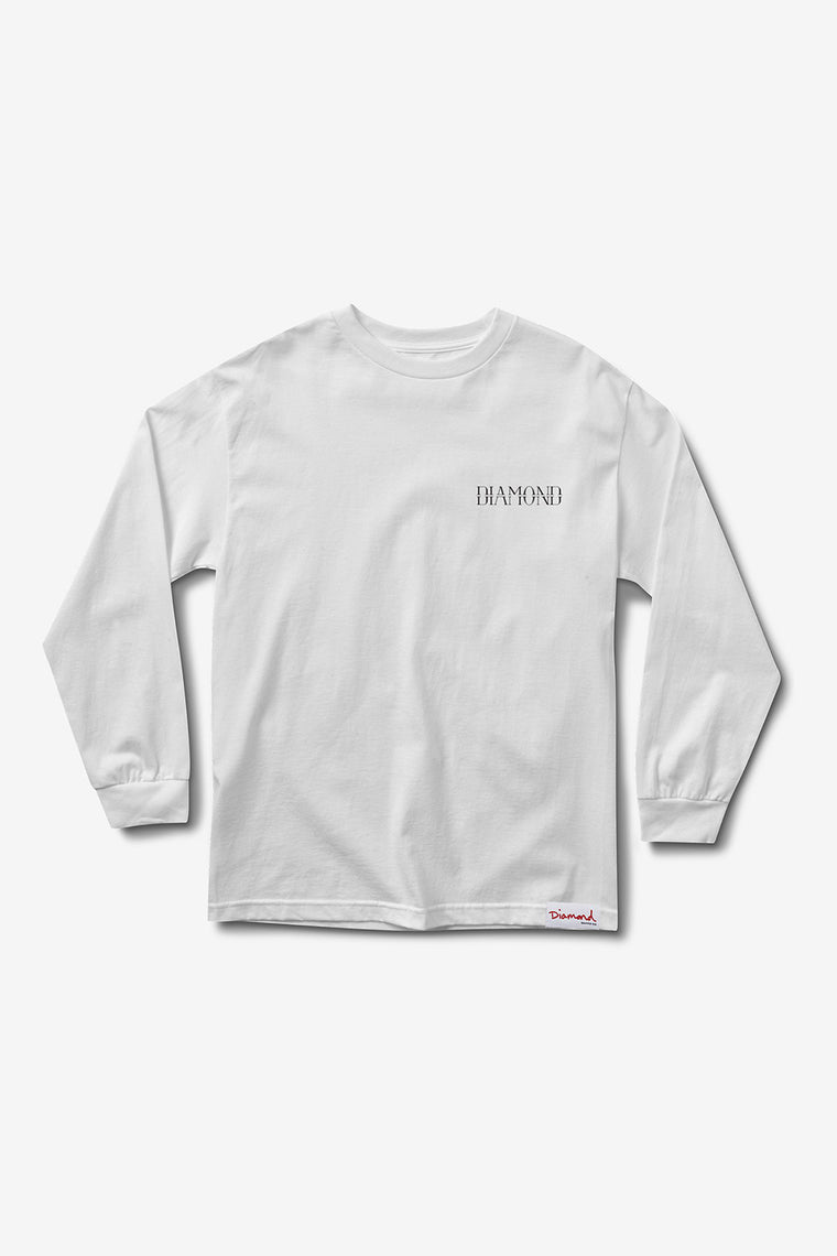 SPLIT LONGSLEEVE T-SHIRT WHITE