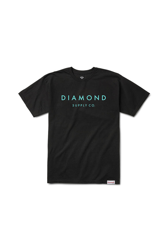 STONE CUT T-SHIRT BLACK