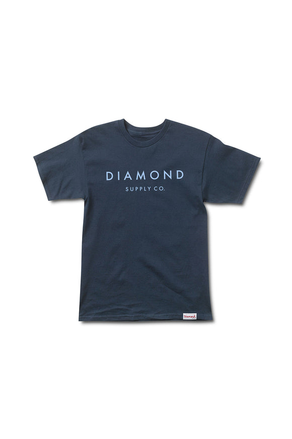 STONE CUT T-SHIRT NAVY