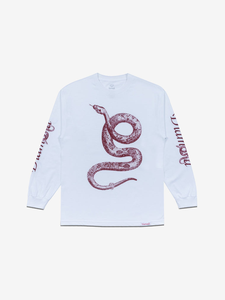 COLD BLOODED LONGSLEEVE - WHITE