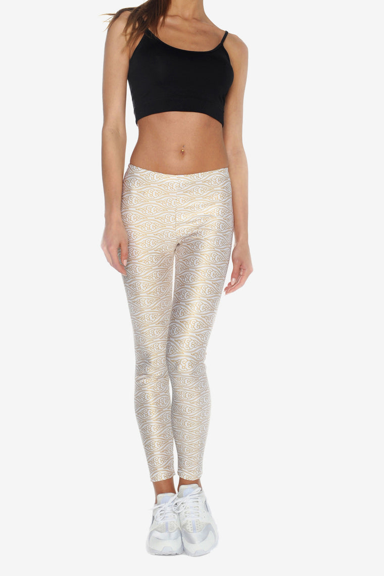 CLOUDS PATTERN LEGGINGS