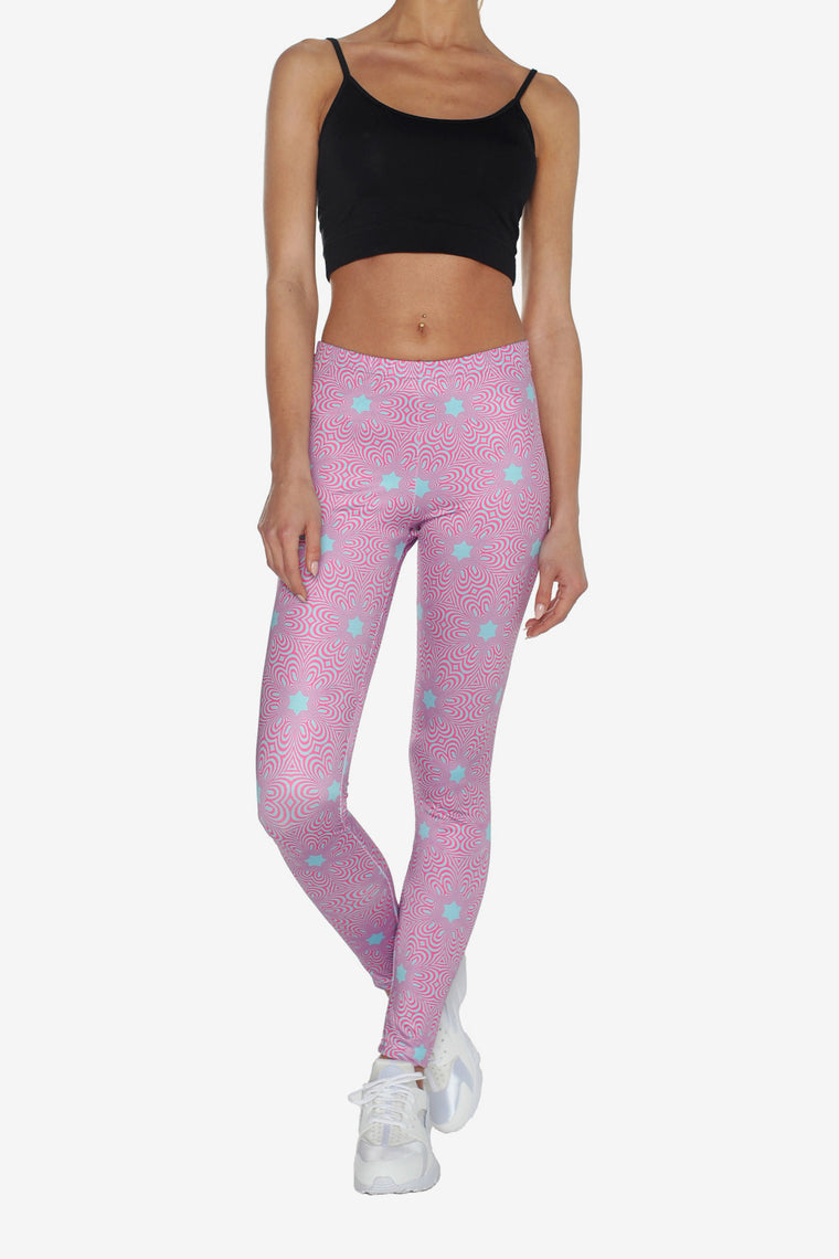 GEOMETRY STARS LEGGINGS