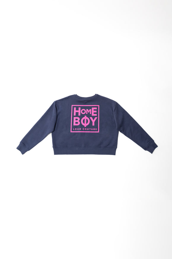 HAILY SWEAT CREW NECK - NAVY