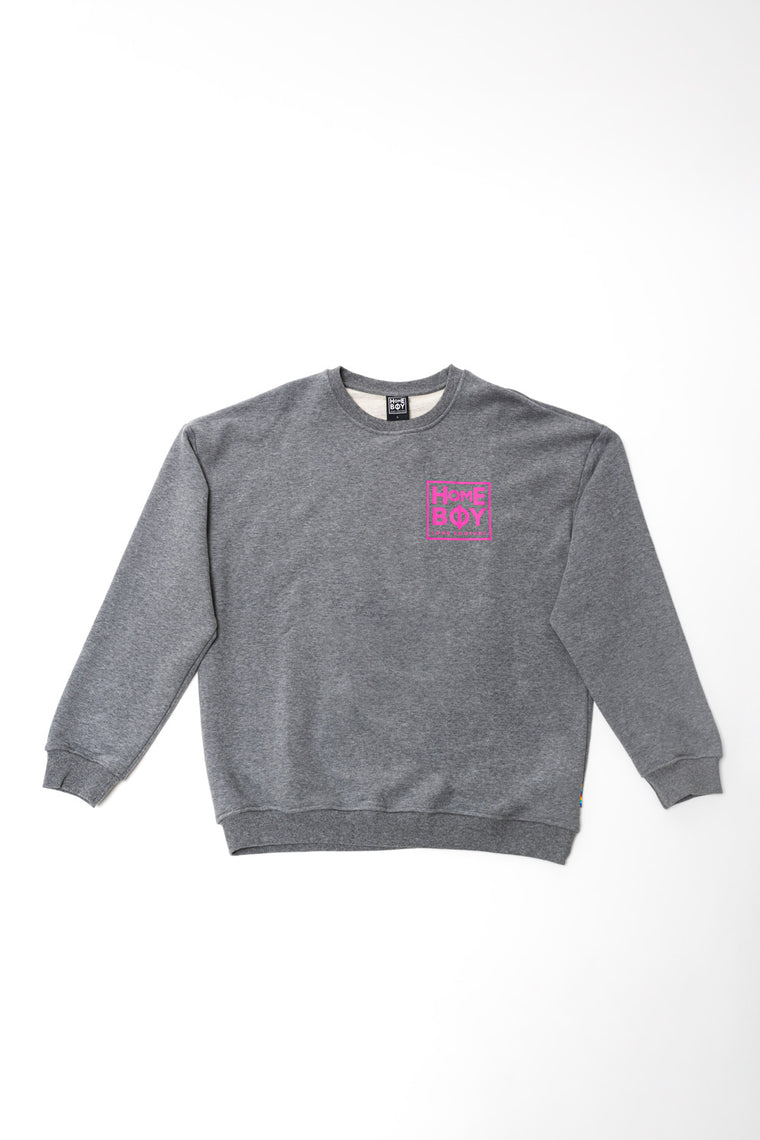 THE BIGGER HOMIE CREW - GREY HEATHER