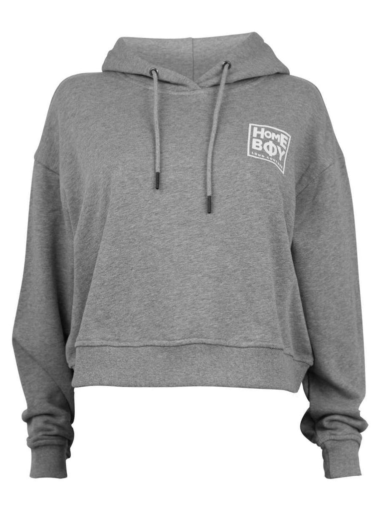 JADA SWEAT HOOD - GREY HEATHER
